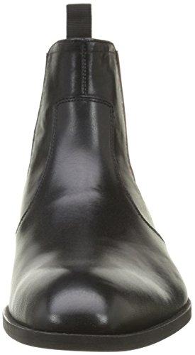 Pellet Ernest, Bottes Chelsea Homme Noir (Veau Box Noir/Bordeaux)