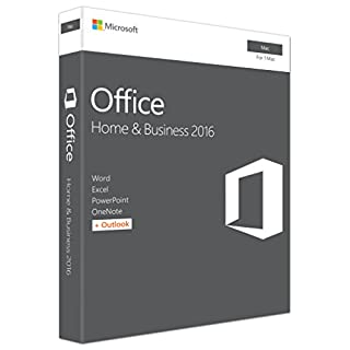 Microsoft Office Home and Business 2016 | Mac | Box