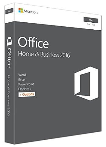 Office Mac Famille et Petite Entreprise 2016 - 1 Mac (téléchargement)-(Mac en Téléchargement)