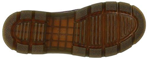 Dr. Martens - Combs Cordura/ Rubbery Oxblood, Scarpe da barca Uomo Rosso (Rot (OXBLOOD))