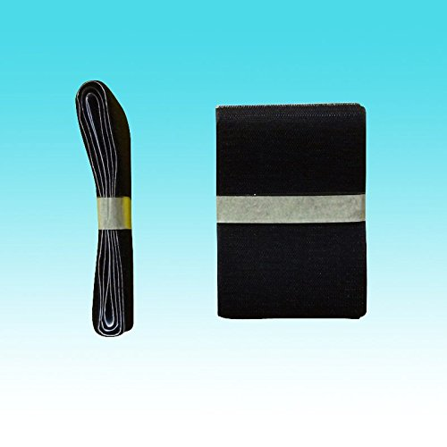 100mm x 2m BANDE AGRIPPANTE ADHÉSIVES NOIRES rubans adhésifs noirs bande adhésives ruban scratch hook loop velcro bande adhésives autoadhésifs