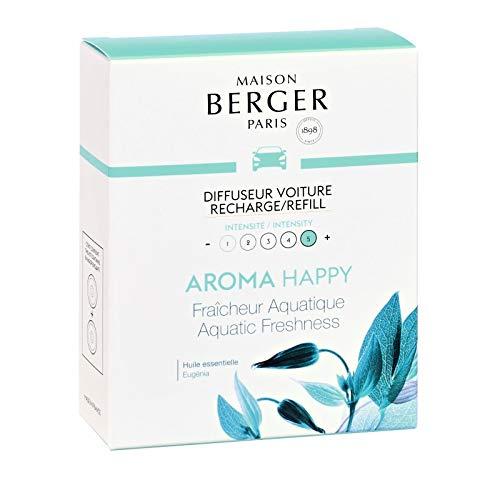 Maison Berger - Cofanetto 2 Ricariche per diffusore Auto Collezione Aroma - Happy