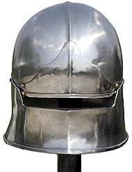"Celada ""Mandíbula"", Celada Medieval, Recreación histórica, Cascos Medievales, Yelmo Medievales, Recreación Cascos"