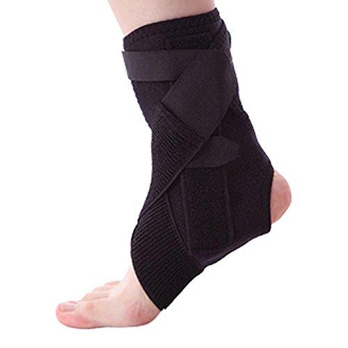 Post-chirurgie Pflege (HRRH Knöchelgelenk Feste Klammer - Ideal für Stabile Fuß-und Sprunggelenkfraktur, Achillessehne Chirurgie, akute Knöchel Verstauchungen, Post-OP-Pflege Stärkung der Festen Waschbar und Bequem, S)