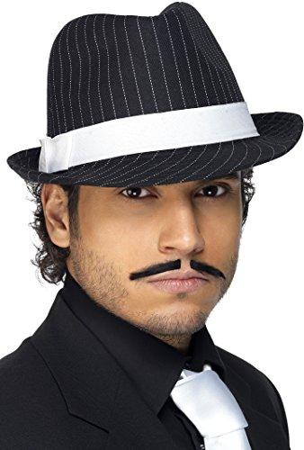 smiffys-chapeau-borsalino-noir-et-blanc