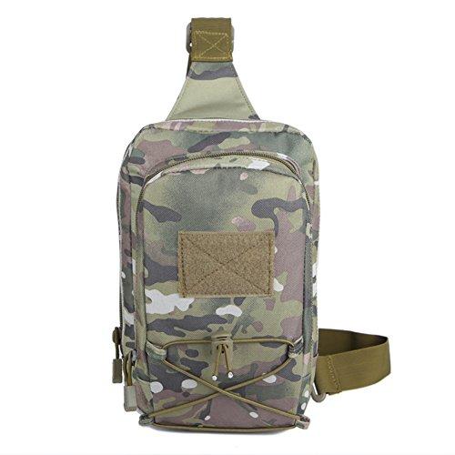 all'aperto arrampicato petto Pack/Borsa camo/Ladies Sport Messenger bag/ multi-funzionale piccolo pacchetto-B D