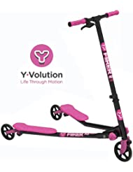 Y-Volution - Patinete YFliker A3 Rosa