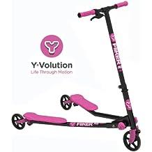 Y-Volution - Patinete YFliker A3 Rosa