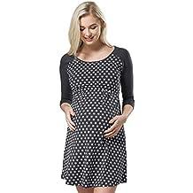 HAPPY MAMA Mujer Maternidad Amamantamiento Hospital Camisa Dormir 543p