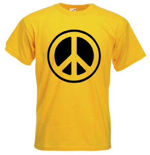 Men's CND Peace Symbol T-shirt. Many Colours - S to 3XL