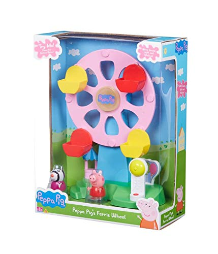 Character Optiions Peppa Pig Riesenrad mit Licht & Sound Enthält Peppa & Zoe Figuren