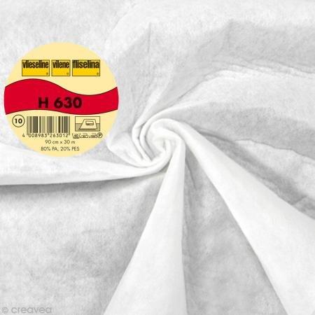 Freudenberg - 1 m Volumenvlies H 630, 90 cm breit (Meterware) , weiß