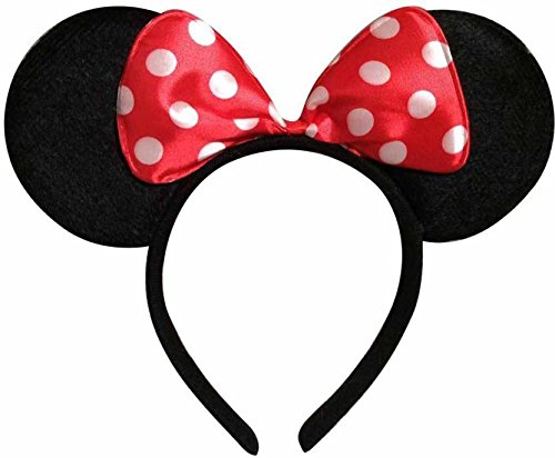 Minnie Mouse red Hair Band for kids for cosplay / theme party / birthday celebration