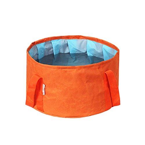 GAOJIAN Pileta plegable para exteriores Tina de lavado Bañera portátil de pie de burbuja barril de pesca que viaja el carro del cubo Suministros , a
