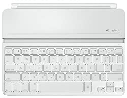 Logitech Ultrathin Keyboard Cover iPad Air weiß Apple iPad Air Zubehör