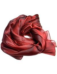 ae8c41c761890f Avantgarde Stola cerimonia donna scialle elegante stole coprispalle a  scelta raso lucido colore colour rosso bordeaux