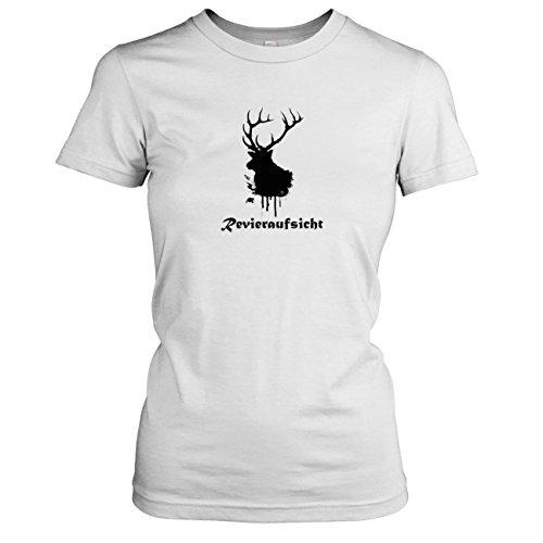 TEXLAB - Revieraufsicht - Damen T-Shirt Weiß