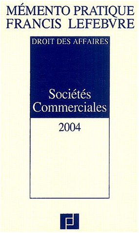 Sociétés Commerciales par Barthélémy Mercadal