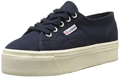 Superga 2790 Linea Up Down, Unisex Adults' Low-Top Sneakers, Blue (933 Navy), 3 UK (35.5 EU)