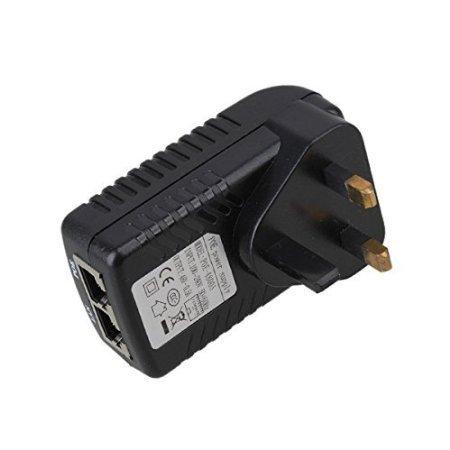 Haobase - Adattatore Ethernet DC 48V, 0.5A, POE dell'Iniettore di