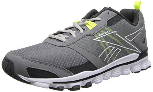 Reebok Hexaffect Run scarpa da running Foggy Grey / Gravel / White / Solar Yellow / Steel