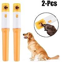 Legendog 2 UNIDS Pet Nail Grinder Pet Nail File Suave Painless Painless Grooming Trimmer Clipper Para Perros Gatos
