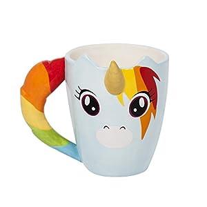 Thumbs Up! Taza Unicornio, cerámica,
