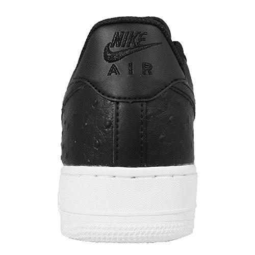 Nike Air Force 1 '07 Lv8 Herren Sneakers Schwarz / Weiß (Schwarz / Schwarz-Weiß)