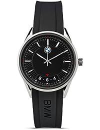Original BMW Hombre Reloj de pulsera reloj Modern acero inoxidable negro–Colección 2016/2018