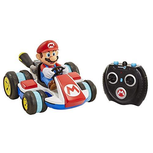 Glop Games- Vive alucinantes Carreras en Todas Las direcciones con Mario, como en el Videojuego-Las Ruedas también Pueden planear Nintendo Control Remoto, Color Inspirado en el mítico Juego Kart (2.0)