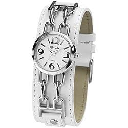 Sinar Armbanduhr - Lederband - silber
