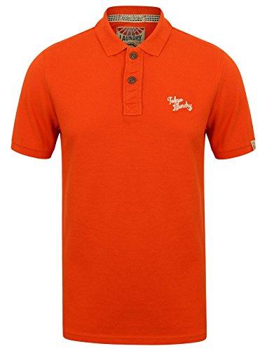Tokyo Laundry Herren Poloshirt 1X8907_PenState_Paprika