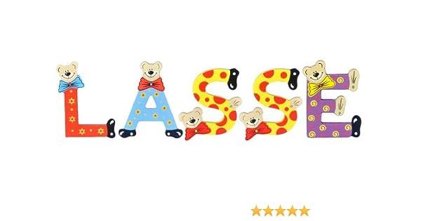 Sortiert Playshoes Kinder Holz-Buchstaben Namen-Set Lasse