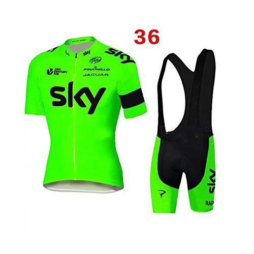Los hombres de bicicletas Club equipo de ciclismo Jersey Ropa Camisas pantalones cortos de sistema del desgaste Deportes
