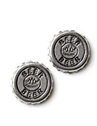 Beer Cap Cufflinks - Business Gift - Wedding Present - Gift Box Included
