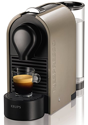 Nespresso U XN250A Macchina per caffè espresso di Krups, colore Grigio (Pure Grey)