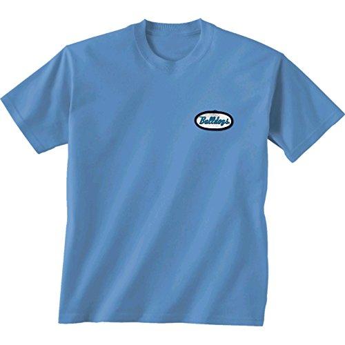 New World Grafiken Zitadelle NCAA Mechaniker Short Sleeve, Unisex, Citadel Mechanic, hellblau