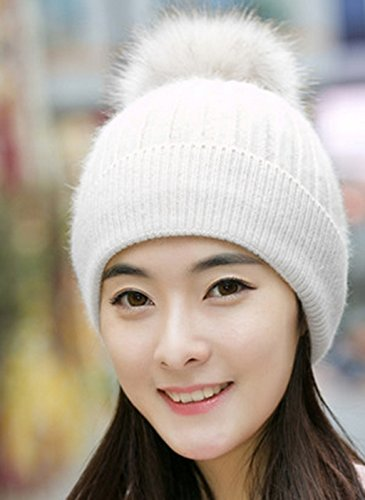 Hedging Sweater Femelle Version Coréenne Hairball Plus Velvet Keep Chaude Thick KnittingHat Femmes Hiver Chapeau Mme Baotou ( couleur : # 6 ) # 8