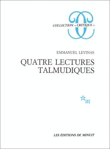 Quatre lectures talmudiques par Emmanuel Levinas