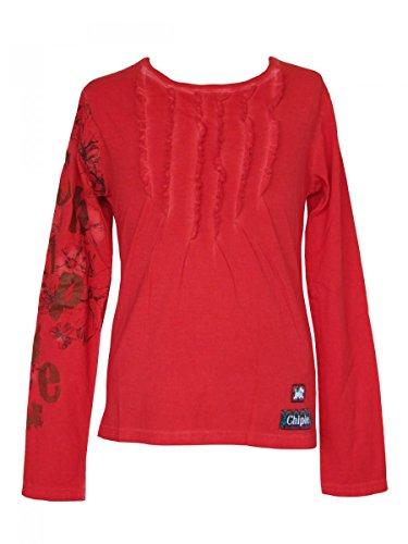 Chipie -  Maglia a manica lunga  - ragazza rosso rosso