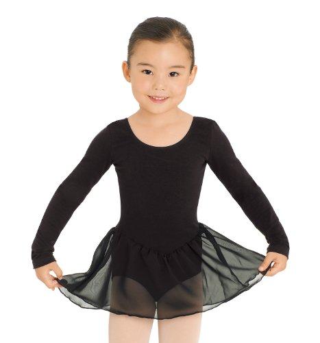 Tutù per bambina, Rosa, a maniche lunghe, con bel gonna di voile, Unisex bambino Bambina Bambini Ragazzo, Rosa, 8-10 anni