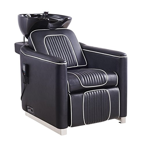 équipement de salon de beauté Cheveux Salon de coiffure Lavabo meubles le dos de rinçage...