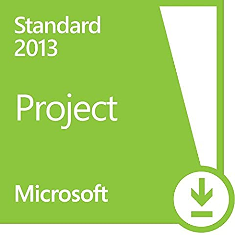 Microsoft Project 2013 Standard 1 PC Vollversion Lizenz (Project Microsoft Office)