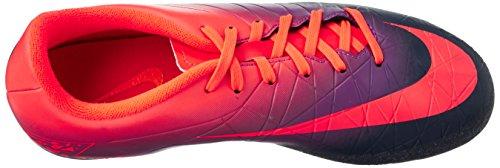 Nike Unisex-Erwachsene 856460-845 Fußballschuhe Mehrfarbig (Total crimson/obsidian-vivid purple)