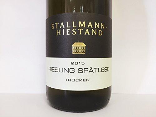 Blanco Stallmann Riesling Spã¤tlesse Trocken Tafelstein - Stallmann-Hiestand - Denominación De Origen Rheinhessen, Alemania - Cosecha Del 2015
