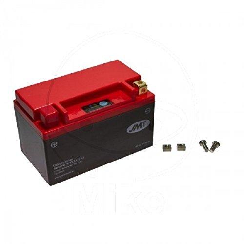 Preisvergleich Produktbild JMT LITHIUM-IONEN Motorrad Batterie 12 Volt YTX7A-BS / LiFePO4 / HJTX7A-FP passend für Kreidler Flory 50 4T CLASSIC,  Bj. 2012-2015 [Preis ist inkl. Batteriepfand]