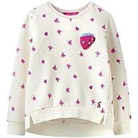 Joules Screen Print Sweatshirt - Cream Strawberry Spot