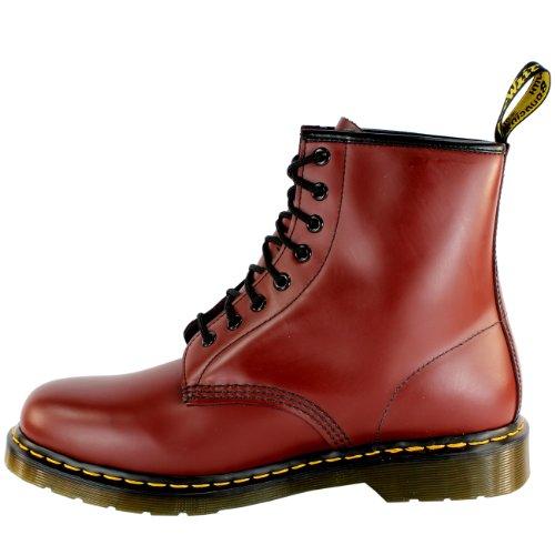 Dr. Martens, Stivali uomo Rosso Rosso ciliegia 40.5 Rosso (rosso)