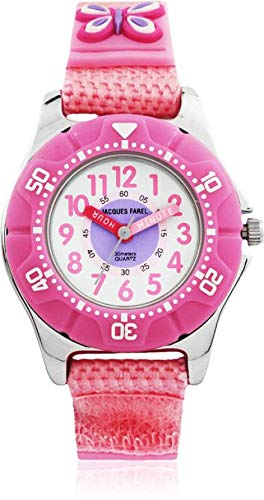 Jacques Farel KWD5552  Analog Watch For Girls