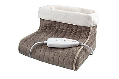 Medisana 60257 FWS Scaldapiedi Materiale traspirante extra-morbido, Riscaldamento rapido con 100 watt, 3 impostazioni di temperatura, Ampio spazio per i piedi by Medisana